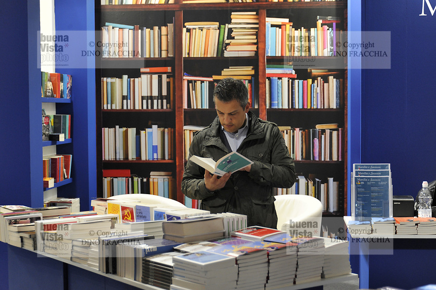 -  Milano, prima edizione del salone dell'editoria &quot;Tempo di Libri&quot;<br />
