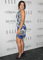 BEVERLY HILLS, CA, USA - OCTOBER 20: Katie Lowes arrives at ELLE's 21st Annual Women In Hollywood held at the Four Seasons Hotel on October 20, 2014 in Beverly Hills, California, United States. (Photo by Celebrity Monitor)