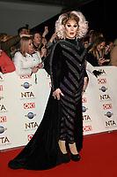 The Vivienne<br /> arriving for the National TV Awards 2020 at the O2 Arena, London.<br /> <br /> ©Ash Knotek  D3550 28/01/2020