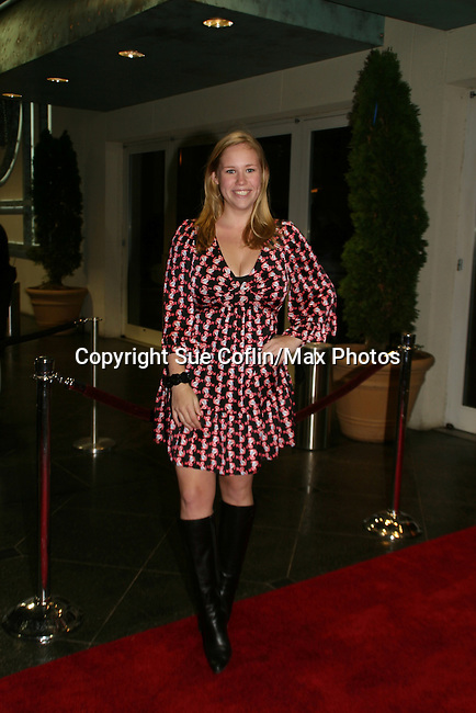 GL's Caitlin Van Zandt at the 16th Annual Feast with Famous Faces to benefit the League for the Hard of Hearing on October 27, 2008 at Pier Sixty at Chelsea Piers, New York City, New York. (Photo by Sue Coflin/Max Photos)