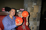 "Guiding Light Kurt McKinney ""Matt"" and Maeve Kinkead ""Vanessa"" at 9th Annual Daytime Stars & Strikes Charity Event to benefit The American Cancer Society on October 7, 2012 at Bowlmor Lanes Times Square, New York City, New York.  (Photo by Sue Coflin/Max Photos)"