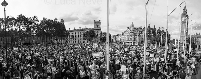 "27.06.2016 - ""Keep Corbyn - Rally in Parliament Square"".<br />