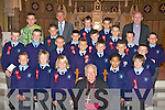 Castleisland Boys NS who was confirmed in St Stephen's and John's Church Castleisland on Wednesday