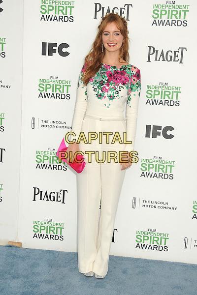 1 March 2014 - Santa Monica, California - Ahna O'Reilly. 2014 Film Independent Spirit Awards - Arrivals held at Santa Monica Beach. <br /> CAP/ADM/BP<br /> &copy;Byron Purvis/AdMedia/Capital Pictures