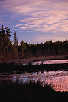 Sunset on beaver pond, Lanark Co Ontario