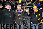 Mike Herlihy, Patsy Breen with Noreen Moynihan and Derek Moynihan, Dr. Crokes fans, pictured at the AIB Munster Club SFC final held in Mallow on Sunday last.