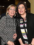Linda Matthews and Tanya McMullen pictured at the McMullen birthday party in the Grove House Dunleer. Photo:Colin Bell/pressphotos.ie