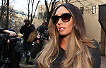 Tamara Ecclestone leaves Southwark Crown Court today 18.2.13 where she gave evidence in the blackmail case against her......Pic by Gavin Rodgers/Pixel 8000 Ltd