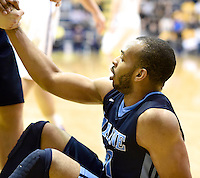 Albany defeats Maine 83-66 in a quarterfinal game of the America East Conference tournament on March 04, 2015 at SEFCU Arena in Albany, New York.  (Bob Mayberger/Eclipse Sportswire)