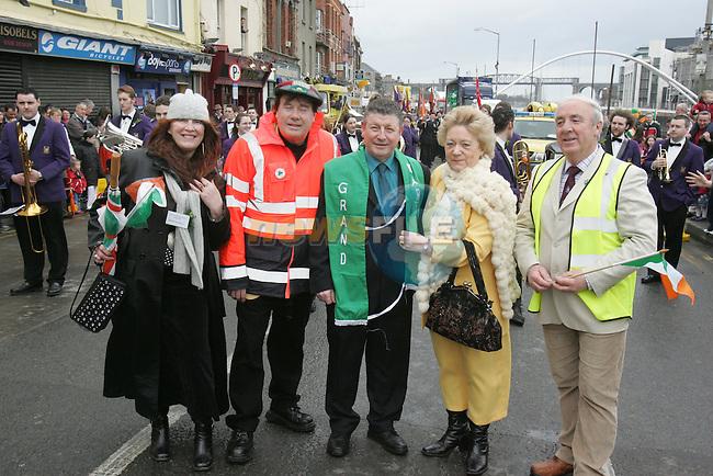 St Patricks Day Parade 2005 Drogheda.Photo By Fran Caffrey/Newsfile.ie