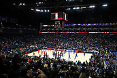 17th January 2019, The O2 Arena, London, England; NBA London Game, Washington Wizards versus New York Knicks; The sides warm up on the court