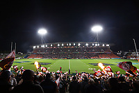 1st August 2020, Hamilton, New Zealand;  General view of the fans. Chiefs versus Crusaders, Super Rugby Aotearoa. FMG Stadium Waikato, Hamilton, New Zealand.
