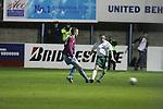 Drogheda United V Bray with Bridgestone Sinage in he Back ground. Photo: Newsfile/Fran Caffrey.