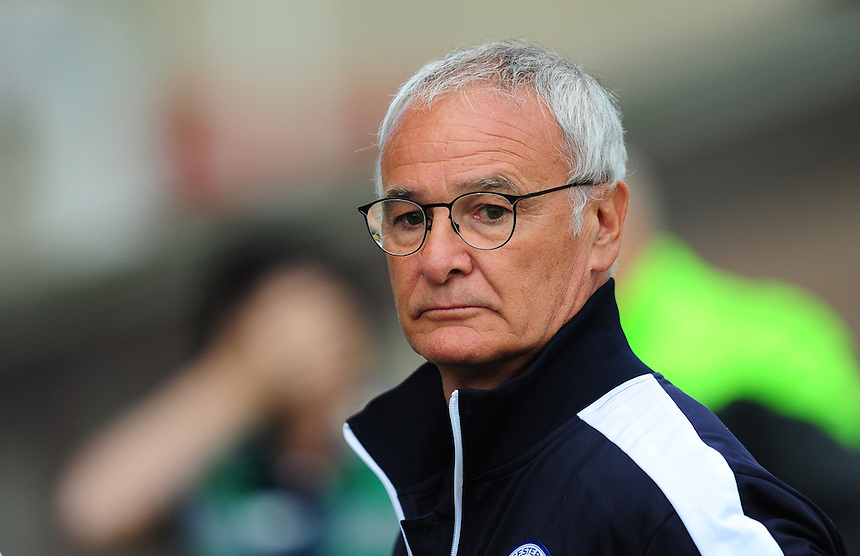 Leicester City Manager Claudio Ranieri <br /> <br /> Photographer Chris Vaughan/CameraSport<br /> <br /> Football - Football Friendly - Lincoln City v Leicester City - Tuesday 21st July 2015 - Sincil Bank - Lincoln<br /> <br /> &copy; CameraSport - 43 Linden Ave. Countesthorpe. Leicester. England. LE8 5PG - Tel: +44 (0) 116 277 4147 - admin@camerasport.com - www.camerasport.com