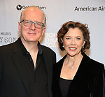 "Tracy Letts and Annette Bening attends the Broadway Opening Night After Party for ""All My Sons"" at The American Airlines Theatre on April 22, 2019  in New York City."