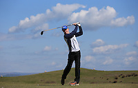Cameron Hoggarth during Round Two of the West of England Championship 2016, at Royal North Devon Golf Club, Westward Ho!, Devon  23/04/2016. Picture: Golffile | David Lloyd<br /> <br /> All photos usage must carry mandatory copyright credit (&copy; Golffile | David Lloyd)
