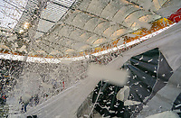 Eintracht Fans sorgen für Stimmung vor dem Anpfiff - 19.09.2019:  Eintracht Frankfurt vs. Arsenal London, UEFA Europa League, Gruppenphase, Commerzbank Arena<br /> DISCLAIMER: DFL regulations prohibit any use of photographs as image sequences and/or quasi-video.