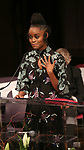 Denee Benton on stage at the The Lilly Awards  at Playwrights Horizons on May 22, 2017 in New York City.