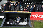 Spectators leaving Borough Briggs, home to Elgin City, on the day they played SPFL2 newcomers Edinburgh City. Elgin City were a former Highland League club who were elected to the Scottish League in 2000, whereas Edinburgh City became the first club to gain promotion to the League by winning the Lowland League title and subsequent play-off matches in 2015-16. This match, Edinburgh City's first away Scottish League match since 1949, ended in a 3-0 defeat, watched by a crowd of 610.