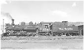 K-28 #478 awaiting assignment.<br /> D&amp;RGW  Durango, CO  Taken by Richardson, Robert W. - 8/1952