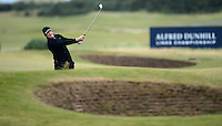 Jamie Donaldson of Wales in action during the Final Round of the 2015 Alfred Dunhill Links Championship at the Old Course, St Andrews, in Fife, Scotland on 4/10/15.<br /> Picture: Richard Martin-Roberts | Golffile