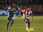 Barranquilla- Junior venció c4 goles por 2 a Valledupar, en el partido correspondiente a la vuelta de los cuartos de final de la copa, desarrollado el 8 de octubre en el estadio Metropolitano.