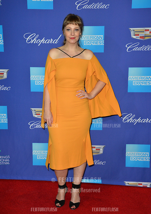 Emily V. Gordon at the 2018 Palm Springs Film Festival Awards at Palm Springs Convention Center, USA 02 Jan. 2018<br /> Picture: Paul Smith/Featureflash/SilverHub 0208 004 5359 sales@silverhubmedia.com