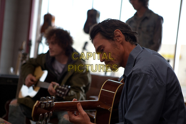 Anton Yelchin, Billy Crudup<br /> in Rudderless (2014) <br /> *Filmstill - Editorial Use Only*<br /> CAP/FB<br /> Image supplied by Capital Pictures