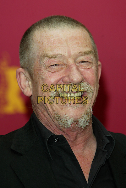 JOHN HURT<br /> promotes' Owning Mahowny' at the Berlin Film Festival<br /> www.capitalpictures.com<br /> sales@capitalpictures.com<br /> &copy;Capital Pictures