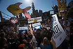 Powershift Rally in Pittsburgh 2013. Over six thousand young people from all over the country are converging in Pittsburgh, PA for Power Shift 2013, a massive training dedicated to bringing about a safe planet and a just future for all people. (Photo by: Robert van Waarden)