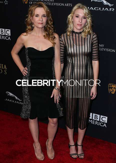 BEVERLY HILLS, CA, USA - OCTOBER 30: Lea Thompson, Madelyn Deutch arrive at the 2014 BAFTA Los Angeles Jaguar Britannia Awards Presented By BBC America And United Airlines held at The Beverly Hilton Hotel on October 30, 2014 in Beverly Hills, California, United States. (Photo by Xavier Collin/Celebrity Monitor)