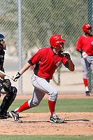 Trey Manz - Cincinnati Reds 2009 Instructional League. .Photo by:  Bill Mitchell/Four Seam Images..