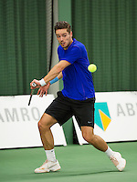 Januari 24, 2015, Rotterdam, ABNAMRO, Supermatch, Tim van Terheijden<br /> Photo: Tennisimages/Henk Koster