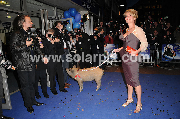 **ALL ROUND PICTURES FROM SOLARPIX.COM**.**WORLDWIDE SYNDICATION RIGHTS**.the UK premiere of Nanny McPhee And The Big Bang, .Odeon West End, Leicester Square, London, UK. 24 March 2010..This pic: Emma Thompson..JOB REF: 10974 MSR    DATE: 24_03_2010.**MUST CREDIT SOLARPIX.COM OR DOUBLE FEE WILL BE CHARGED**.**MUST NOTIFY SOLARPIX OF ONLINE USAGE**.**CALL US ON: +34 952 811 768 or LOW RATE FROM UK 0844 617 7637**