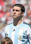 22 July 2007: Argentina's Matias Sanchez. At the National Soccer Stadium, also known as BMO Field, in Toronto, Ontario, Canada. Argentina's Under-20 Men's National Team defeated the Czech Republic's Under-20 Men's National Team 2-1 in the championship match of the FIFA U-20 World Cup Canada 2007 tournament.