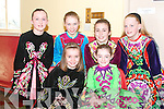 Stepping at the Feish in Scoil Realta Na Maidine Listowel on Sunday were Sarah Curtin Abbeyfeale, and Kiara Hunt, Listowel, Emma Sexton Abbeyfeale, martina Guiney Listowel, AnnMarie Francis, lisselton and Ciara Moriarty, Irremore, Listowel ..   Copyright Kerry's Eye 2008