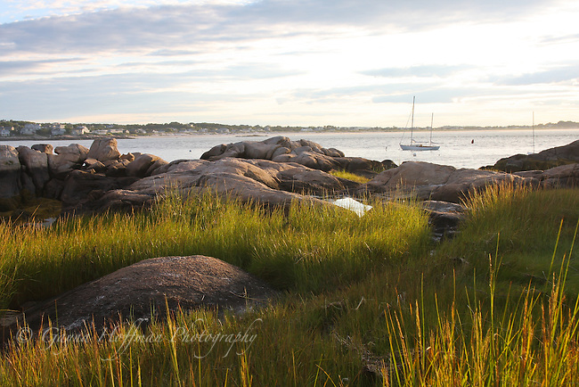 Coastal scene, north shore of MA
