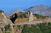 Spanien, Kanarische Inseln, Gomera, Berge bei Epina