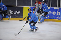 IJSHOCKEY: LEEUWARDEN: 17-09-2016, UNIS Flyers - Amsterdam Tijgers, Marco Postma, oefenwedstrijd uitslag 3-2, ©foto Martin de Jong