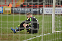 Paul Farman of Stevenage is beaten during Stevenage vs Bury, Sky Bet EFL League 2 Football at the Lamex Stadium on 9th March 2019