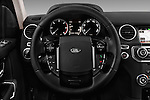 Car pictures of steering wheel view of a 2016 Land Rover Discovery HSE 5 Door Suv Steering Wheel