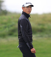 Daniel Im (USA) on the 2nd fairway during Round 4 of the D+D Real Czech Masters at the Albatross Golf Resort, Prague, Czech Rep. 03/09/2017<br /> Picture: Golffile | Thos Caffrey<br /> <br /> <br /> All photo usage must carry mandatory copyright credit     (&copy; Golffile | Thos Caffrey)