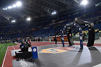 A panoramic view of Serie a production ahead the Serie A 2018/2019 football match between AS Roma and FC Internazionale at stadio Olimpico, Roma, December, 2, 2018 <br />  Foto Andrea Staccioli / Insidefoto