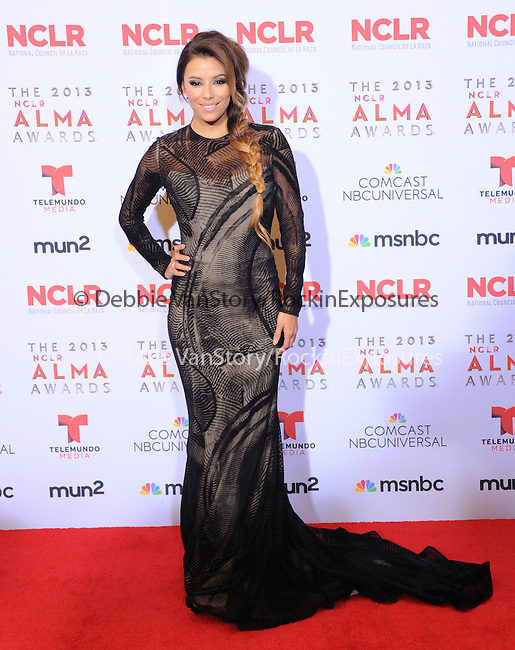 Eva Longoria attends The 2013 NCLR ALMA Awards held at the Pasadena Civic Auditorium in Pasadena, California on September 27,2012                                                                               © 2013 DVS / Hollywood Press Agency