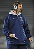MacArthur varsity football head coach Bobby Fehrenbach calls out a play from the sidelines during the Nassau County Conference II final against Wantagh at Hofstra University on Friday, Nov. 20, 2015. He led MacArthur to its first county championship since 2002 with a 28-14 victory.<br /> <br /> James Escher