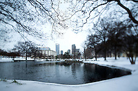 Charlotte Snow Photography - Photography of Marshall Park in uptown Charlotte North Carolina. <br /> <br /> Photography of snow scenes in Charlotte North Carolina.<br /> <br /> Charlotte Photographer - PatrickSchneiderPhoto.com