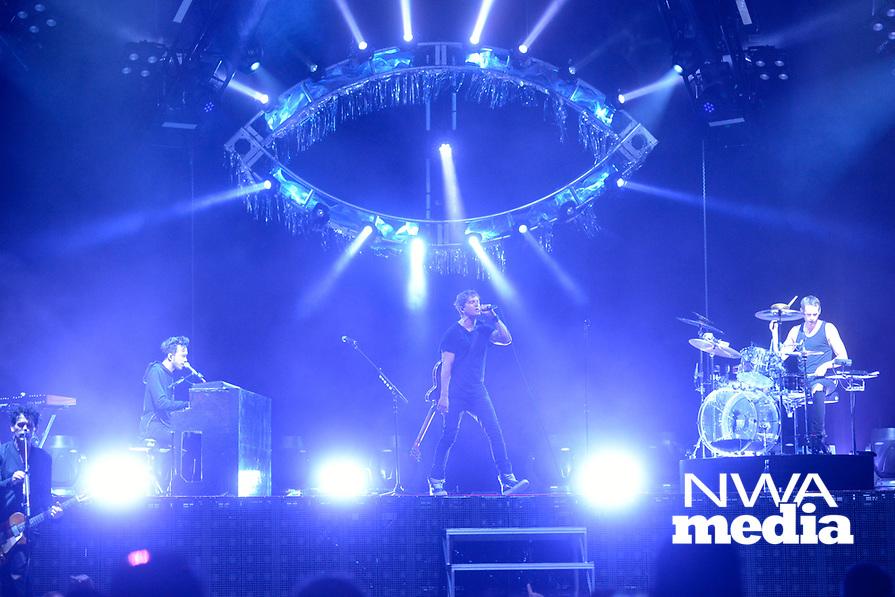NWA Democrat Gazette/JOCELYN MURPHY<br /> California alternative rock band Third Eye Blind returned to the Walmart AMP in Rogers on Wednesday, July 12, 2017 as part of their Summer Gods Tour.