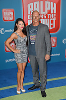 "LOS ANGELES, CA. November 05, 2018: Joseph Gatt & Mercy Malick at the world premiere of ""Ralph Breaks The Internet"" at the El Capitan Theatre.<br /> Picture: Paul Smith/Featureflash"
