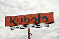 A Kubota dealer is pictured in Maine Tuesday June 18, 2013.