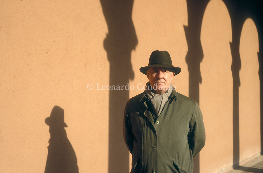 Venice, January 1998, Luciano Mauri, Italian, ex-Honorary President of 'Messaggerie Libri'.